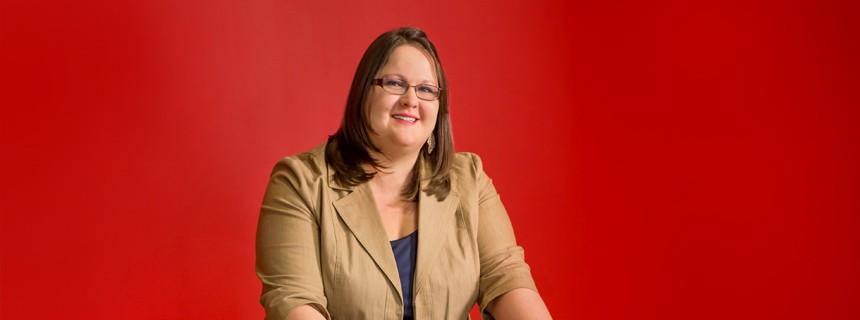 Amy Mockapetris named to 40 Under 40 for 2014