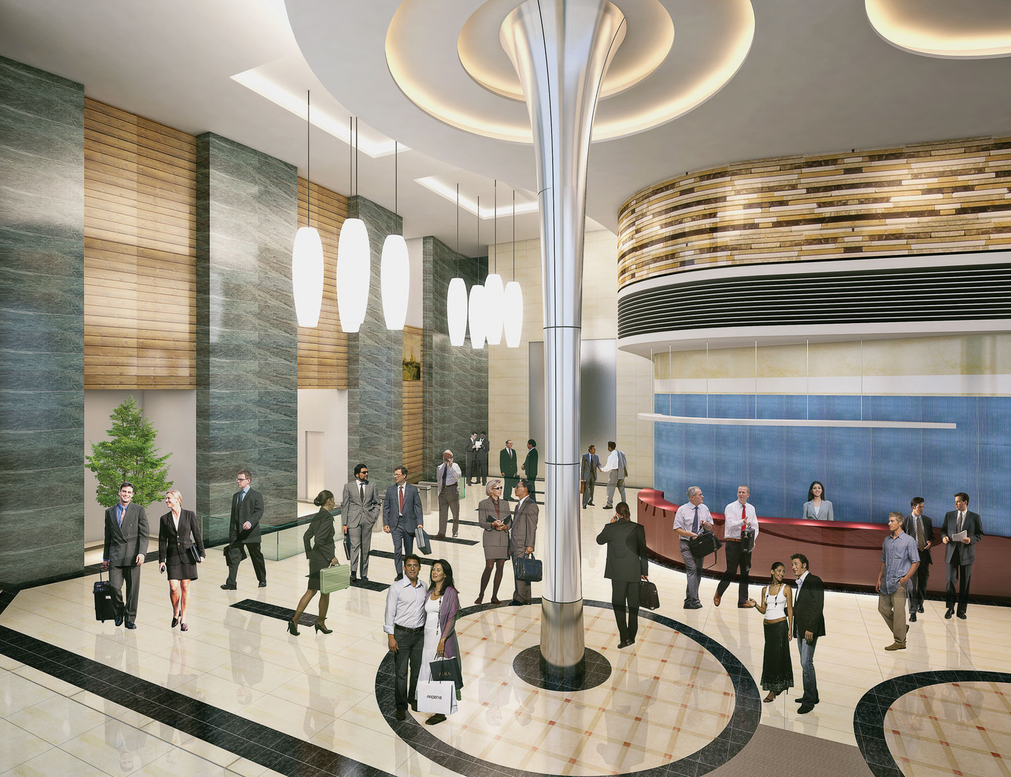 Mall of istanbul sales office ares architecture - View Project Gallery