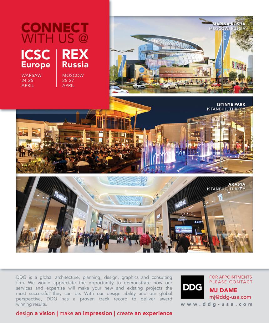 ICSC Europe + REX Moscow
