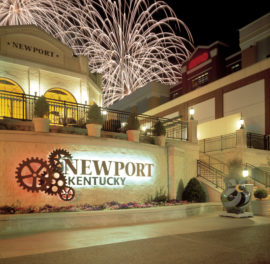 Newport on the Levee Graphics