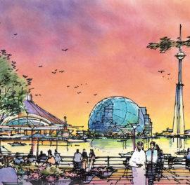 Dubai River Walk Concept Master Plan Festival Promenade