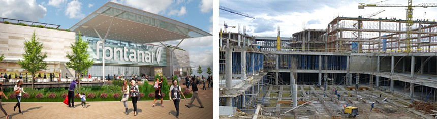Construction Update from Colombia – Fontanar Centro Comercial